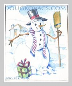 DKovacs_snowman card 1